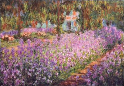 Art history news painting the modern garden monet to matisse for Artistes de jardin