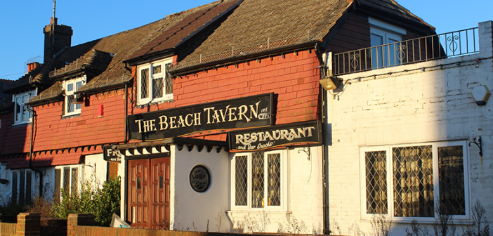 The Beach Tavern, Pevensey Bay: Photograph
