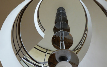 Stairwell at the De La Warr Pavilion: Photograph