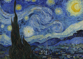 The Starry Night: Vincent Van Gogh