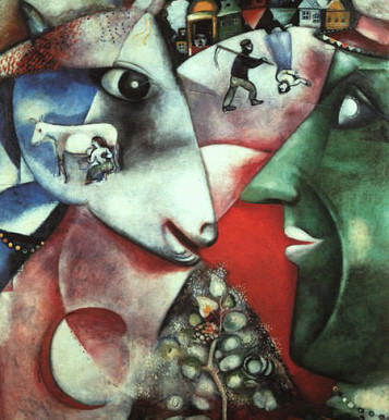 I and the Village: Marc Chagall